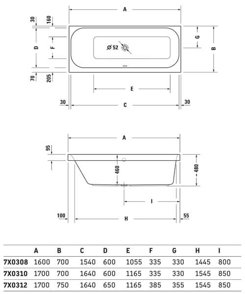 Technical drawing 50452 / 760308000JS1000