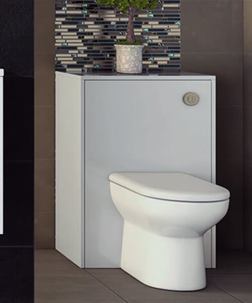 Additional image of Hudson Reed Coast 600 x 225mm Back To Wall WC Unit