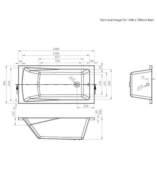 Technical drawing 59002 / NBA405
