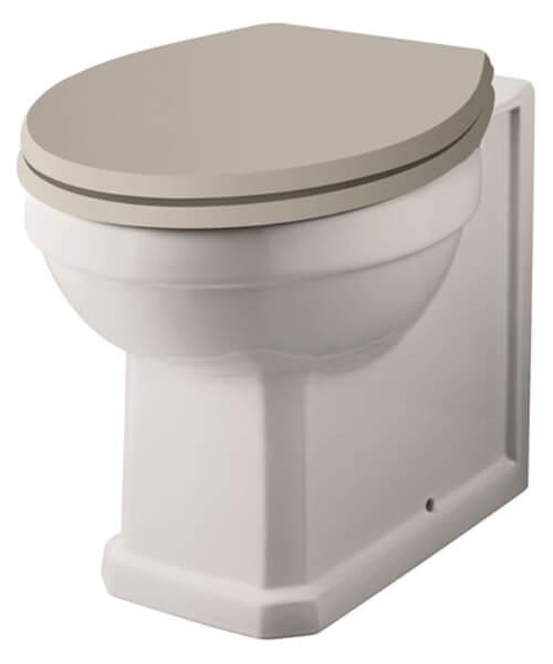 Hudson Reed Richmond 360 x 520mm Back-To-Wall WC Pan