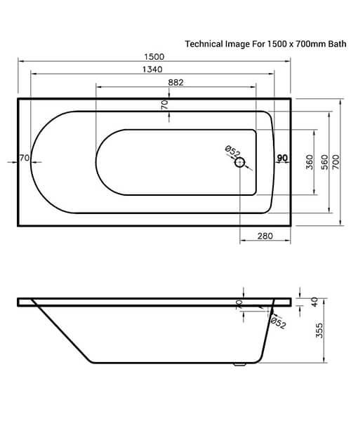 Technical drawing 20145 / NBA605