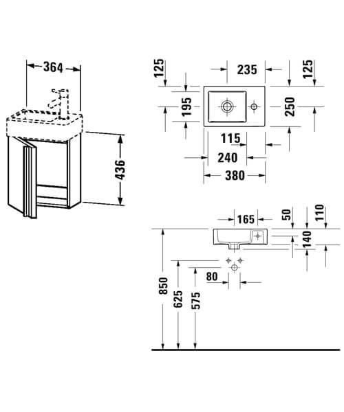 Technical drawing 59546 / VA6212L1818