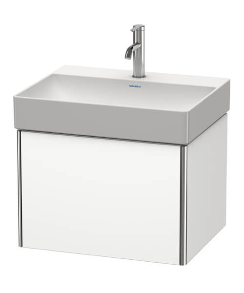 Duravit XSquare Wall Mounted 1 Drawer Vanity Unit For DuraSquare Basin