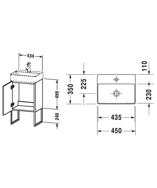 Technical drawing 41689 / XS4441L1818
