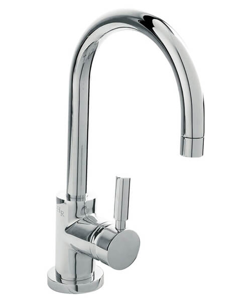 Hudson Reed Tec Single Lever Side Action Basin Mixer Tap With Waste