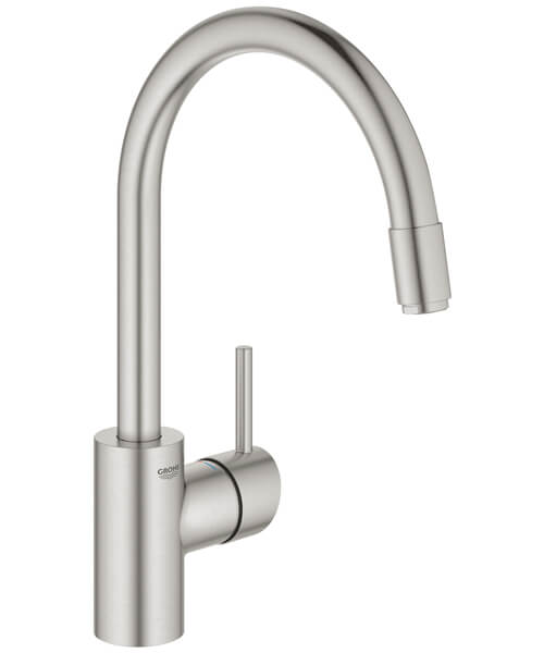 Additional image of Grohe Concetto Single Lever Monobloc Sink Mixer Tap