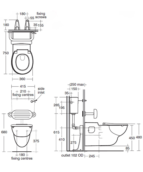 Technical drawing 47478 / S307801