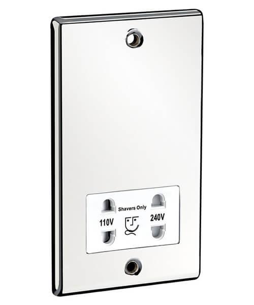 Alternate image of Hudson Reed Dual Voltage Shaver Socket