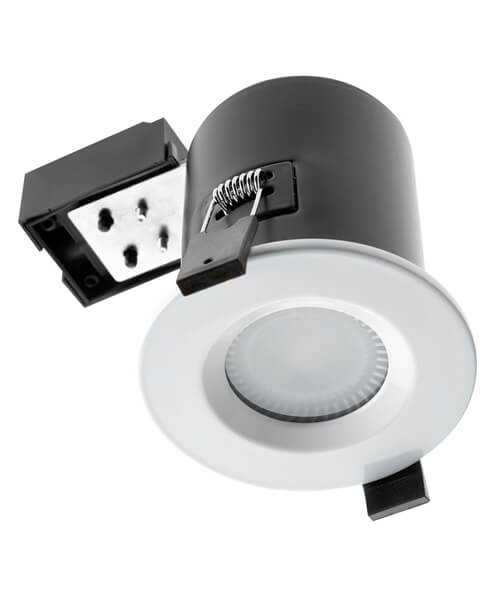 Hudson Reed Ceiling Fire And Acoustic Shower Light Fitting