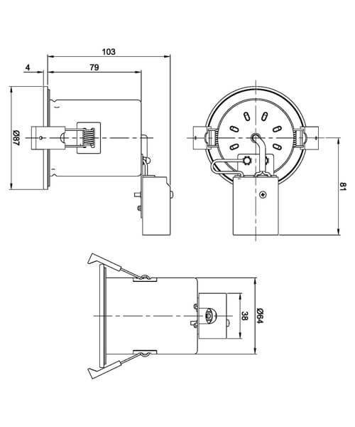 Technical drawing 61742 / SE30034W0