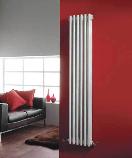 Hudson Reed Colosseum 1500mm High Triple Column Traditional Radiator