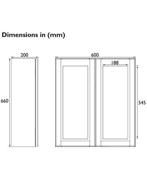 Technical drawing 60555 / FFDGRMWU600
