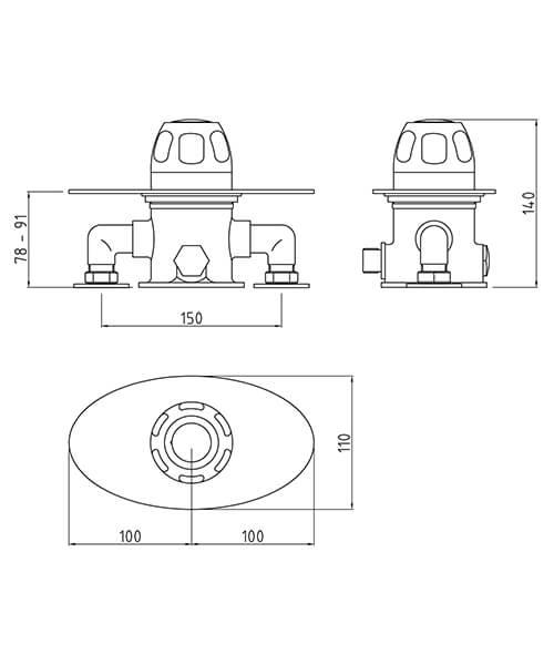 Technical drawing 58157 / VSQ3