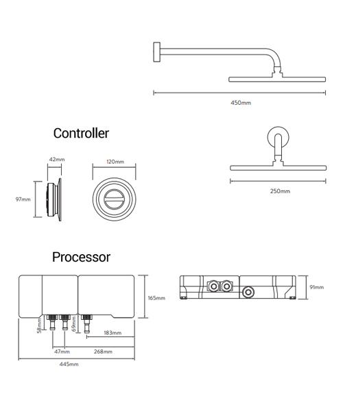 Technical drawing 60307 / QZDA2BVDVBTX18