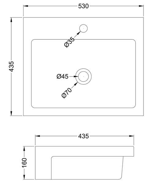 Technical drawing 61792 / NBV172