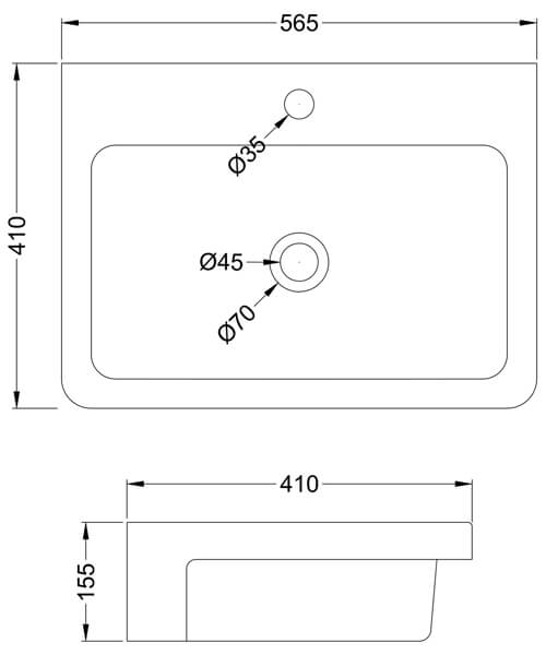 Technical drawing 61793 / NBV171