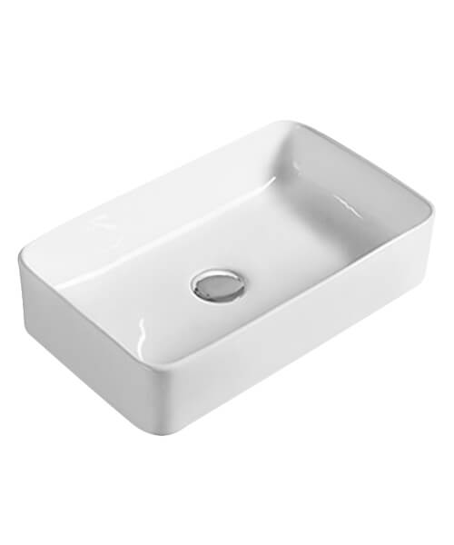 Hudson Reed Vessel 460 x 230mm Rectangular Countertop Basin