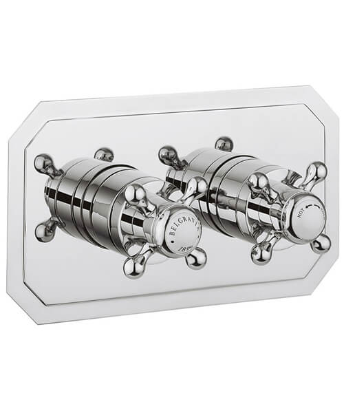 Crosswater Belgravia Crosshead 2 Way Diverter Thermostatic Shower Valve
