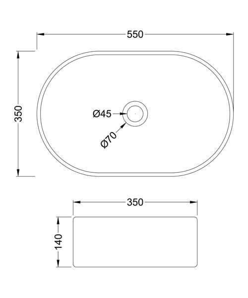 Technical drawing 61758 / NBV169