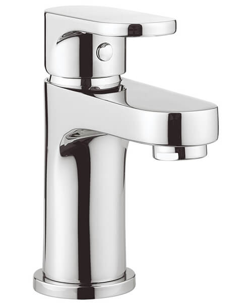 Crosswater Style Monobloc Basin Mixer Tap With Click Clack Waste