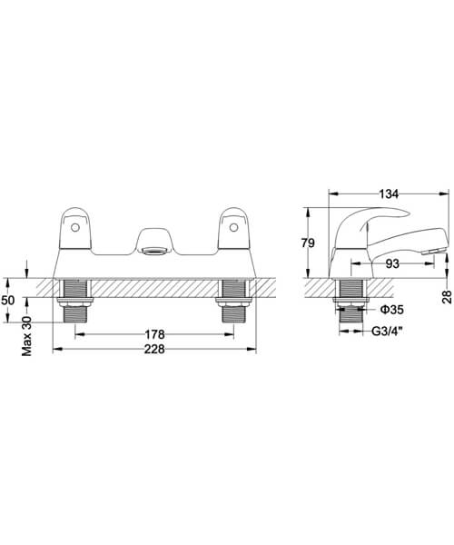Technical drawing 62236 / MBSY322D