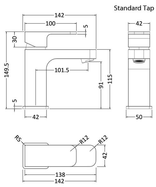 Technical drawing 53918 / AST305