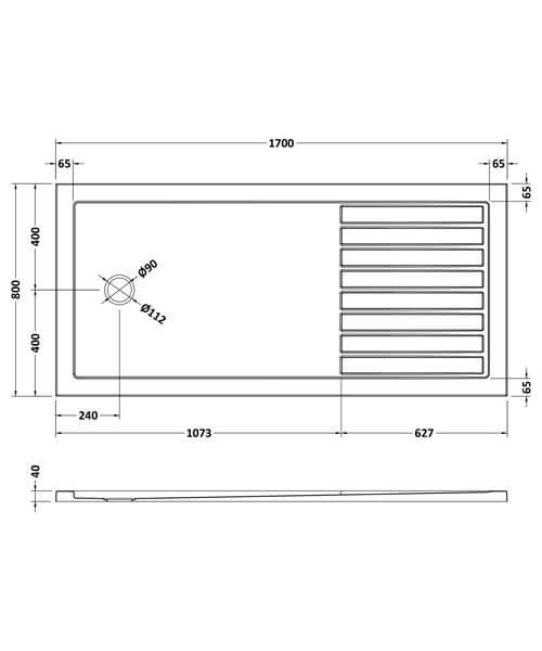 Technical drawing 61762 / NTP1480