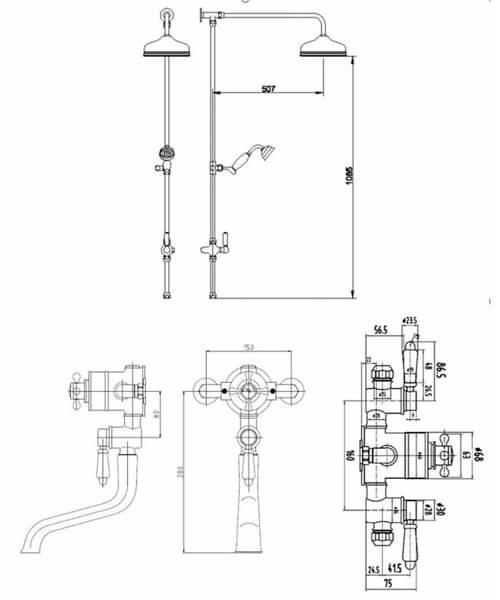 Technical drawing 53512 / TSVT103