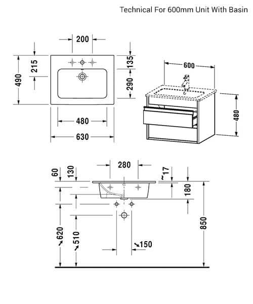Technical drawing 52501 / KT642801818