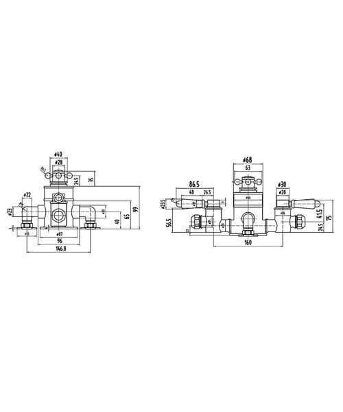 Technical drawing 53511 / TSVT102