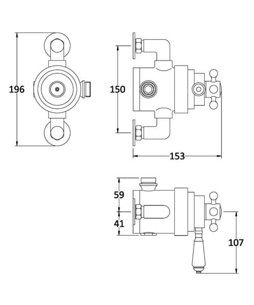 Technical drawing 53897 / TSVT104