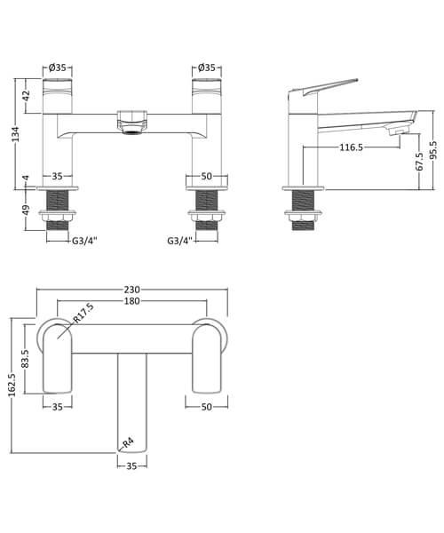 Technical drawing 53930 / DRI303