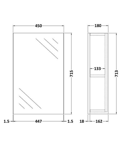Technical drawing 53878 / OFF116