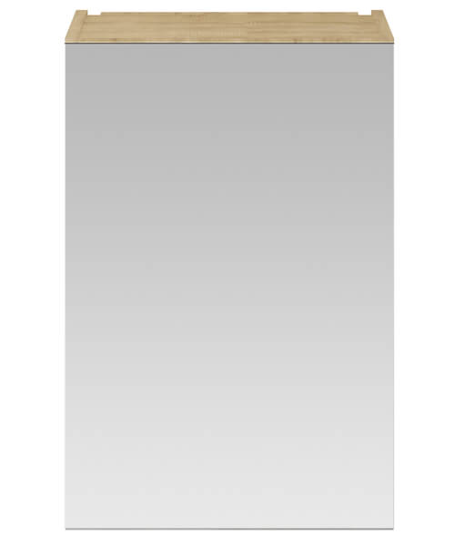 Additional image of Hudson Reed Fusion 450 x 715mm Single Door Mirror Cabinet