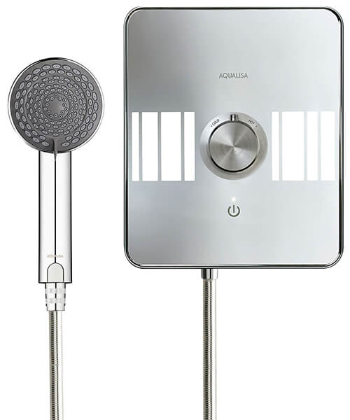 Alternate image of Aqualisa Lumi Electric Shower With Adjustable Head