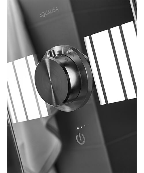 Additional image of Aqualisa Lumi Electric Shower With Adjustable Head