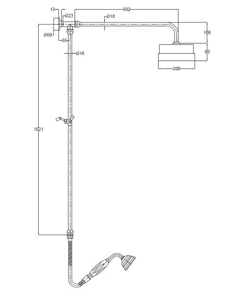 Technical drawing 4290 / A3606