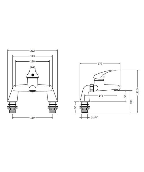 Technical drawing 14613 / DTY303