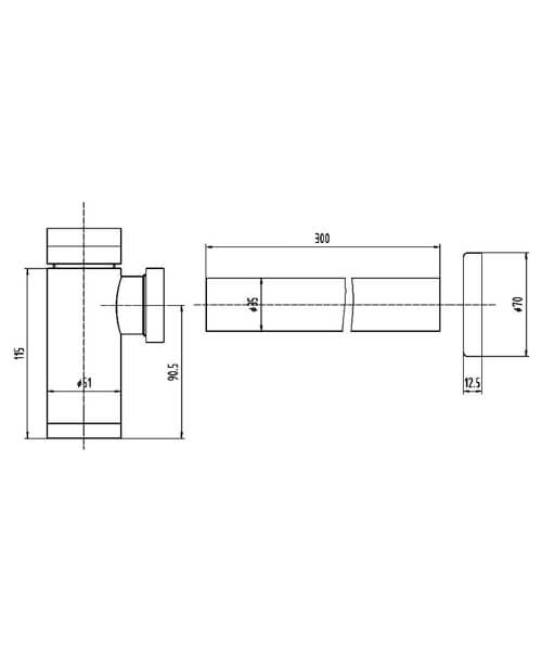 Technical drawing 5408 / EK302