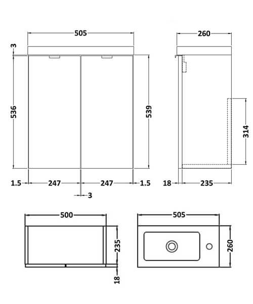 Technical drawing 53883 / CBI138