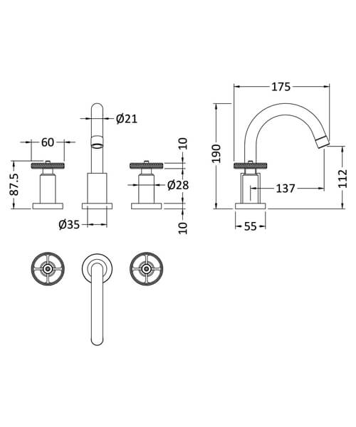 Technical drawing 53938 / TIW337