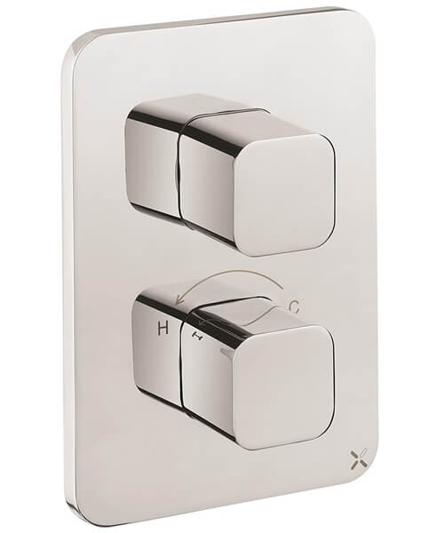 Crosswater Atoll Crossbox 1000 1 Outlet Thermostatic Valve