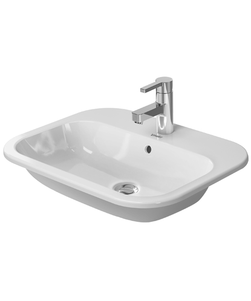 Duravit Happy D2 Counter Top Vanity Basin - White 600 x 460mm