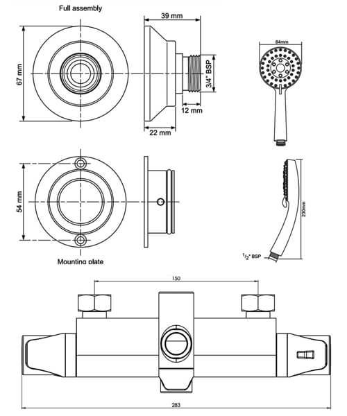 Technical drawing 62273 / UNDETHBMDIVLE