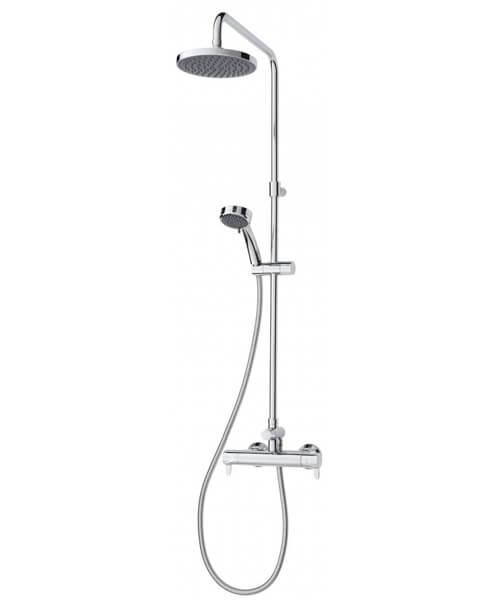 Triton Dene Lever Bar Diverter Mixer Shower Kit