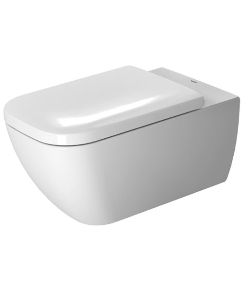 Duravit Happy D2 Rimless Toilet Wall Mounted 365 x 620mm