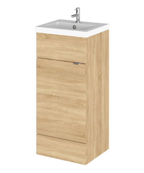 Additional image of Hudson Reed Fusion 400mm Full Depth Floorstanding Vanity Unit And Basin