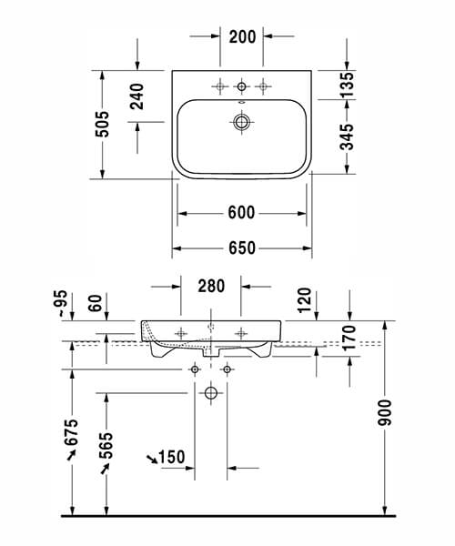 Technical drawing 32621 / 2318600028
