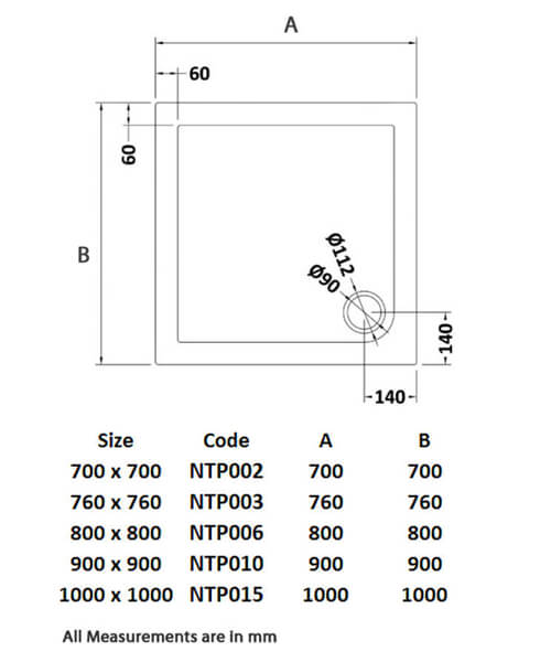Technical drawing 53964 / NTP002