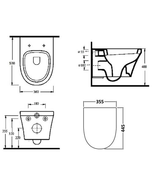 Technical drawing 53974 / CPA027